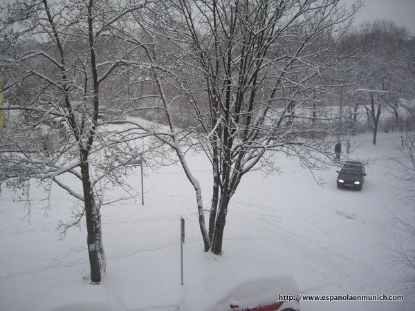 La Gran Nevada en Munich Diciembre 2010-1