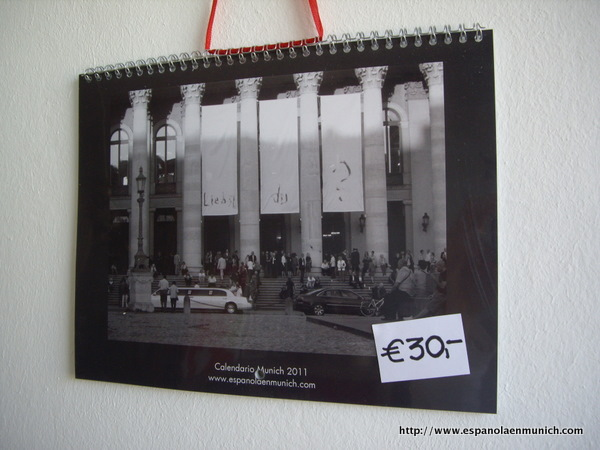 Calendario 2011 Espana.Calendario 2011 Una Espanola En Munich