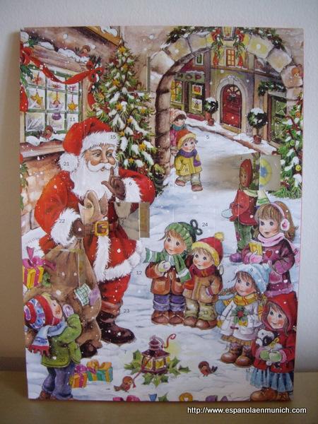 Calendario Adviento Lidl.Mi Basico Calendario De Adviento Una Espanola En Munich